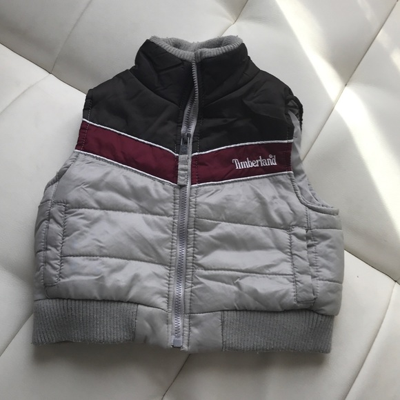 91ebd7bf4c Timberland Jackets & Coats | Full Zip Puffer Vest Size 12 Month ...